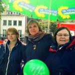 von links: Jenny Olpen, Susanne Benary-Höck, Heike Buhn