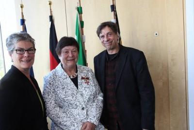 A. Groschke, Inge Arndt, M. Klinkicht (Foto :Klinkicht-  gehört nicht zum Artikel)
