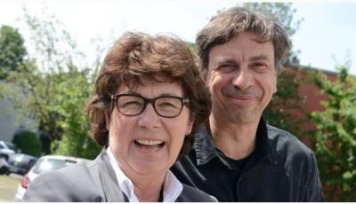 Haben sich bis 2020 noch viel vorgenommen: Helga Koenemann (CDU) und Michael Klinkicht (Grüne). FOTO: Woitschützke NGZ