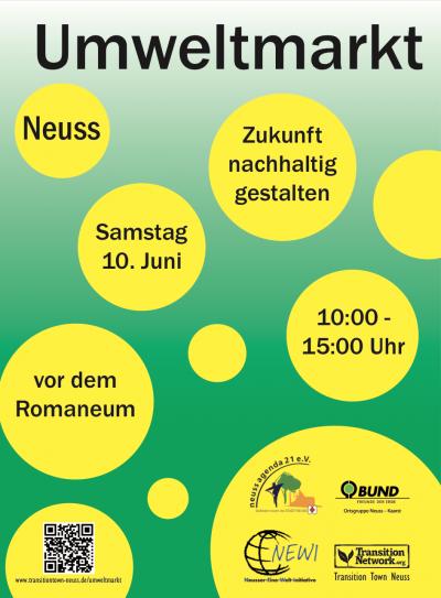 Umweltmarkt in Neuss @ Platz vor dem Romaneum | Neuss | Nordrhein-Westfalen | Deutschland