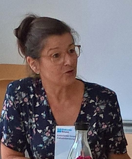 Cornelia Steiner zu Gast bei den GRÜNEN 60+