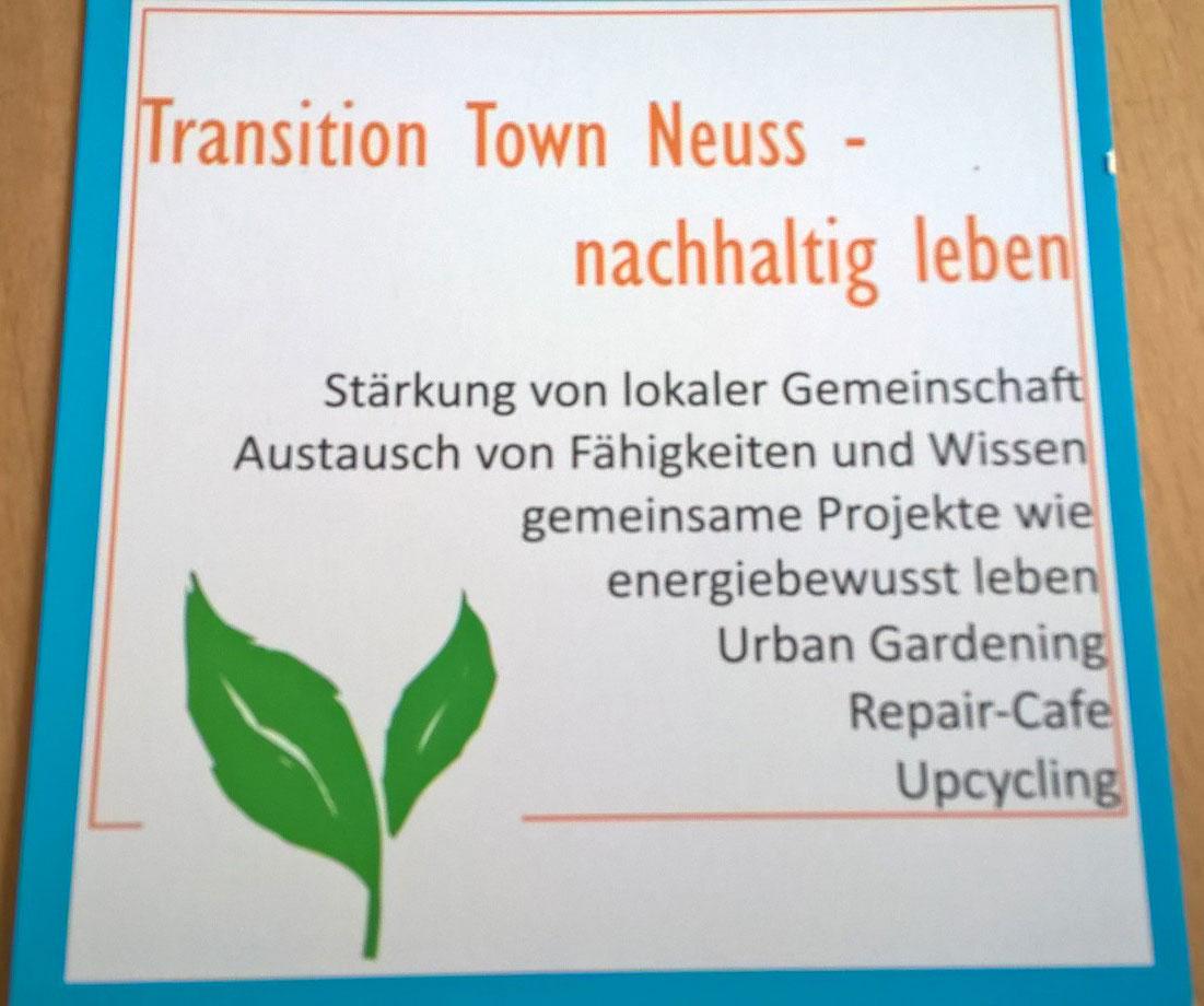 Transition Town zu Gast bei den GRÜNEN 60+