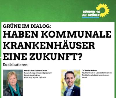 Haben kommunale Krankenhäuser noch eine Zukunft? @ Vogthaus | Neuss | Nordrhein-Westfalen | Deutschland