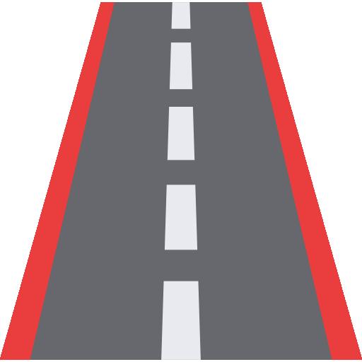 Anbringung von profilierten Fahrbahnmarkierungen für Fahrradschutzstreifen und Randstreifen an Fahrradwegen auf Straßen
