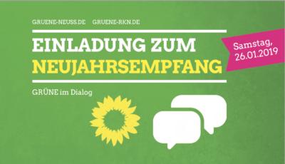 GRÜNER Neujahrsempfang @ Foyer des Rheinischen Landestheaters | Neuss | Nordrhein-Westfalen | Deutschland