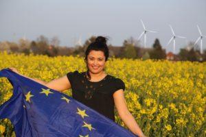 Europa bedeutet für mich Frieden, Rechtsstaatlichkeit, Solidarität, Klima- und Artenschutz
