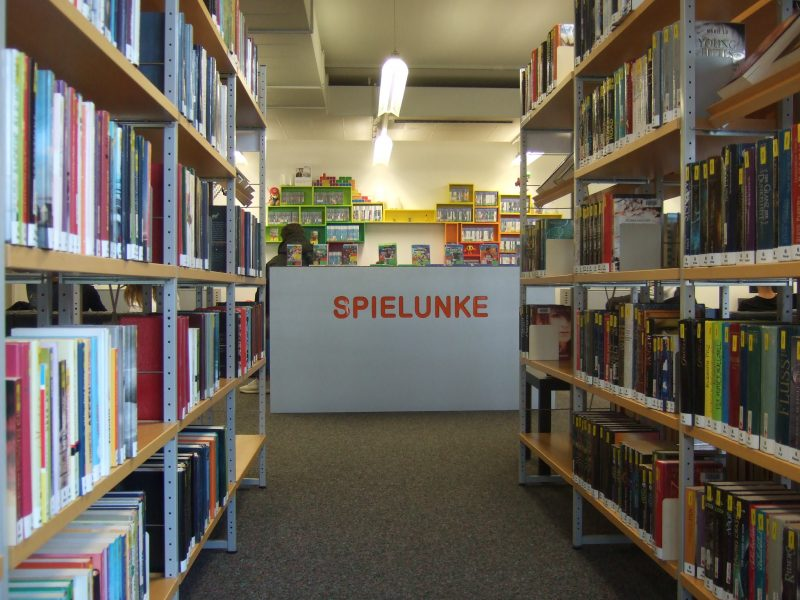 Stadtbibliothek Spielunke