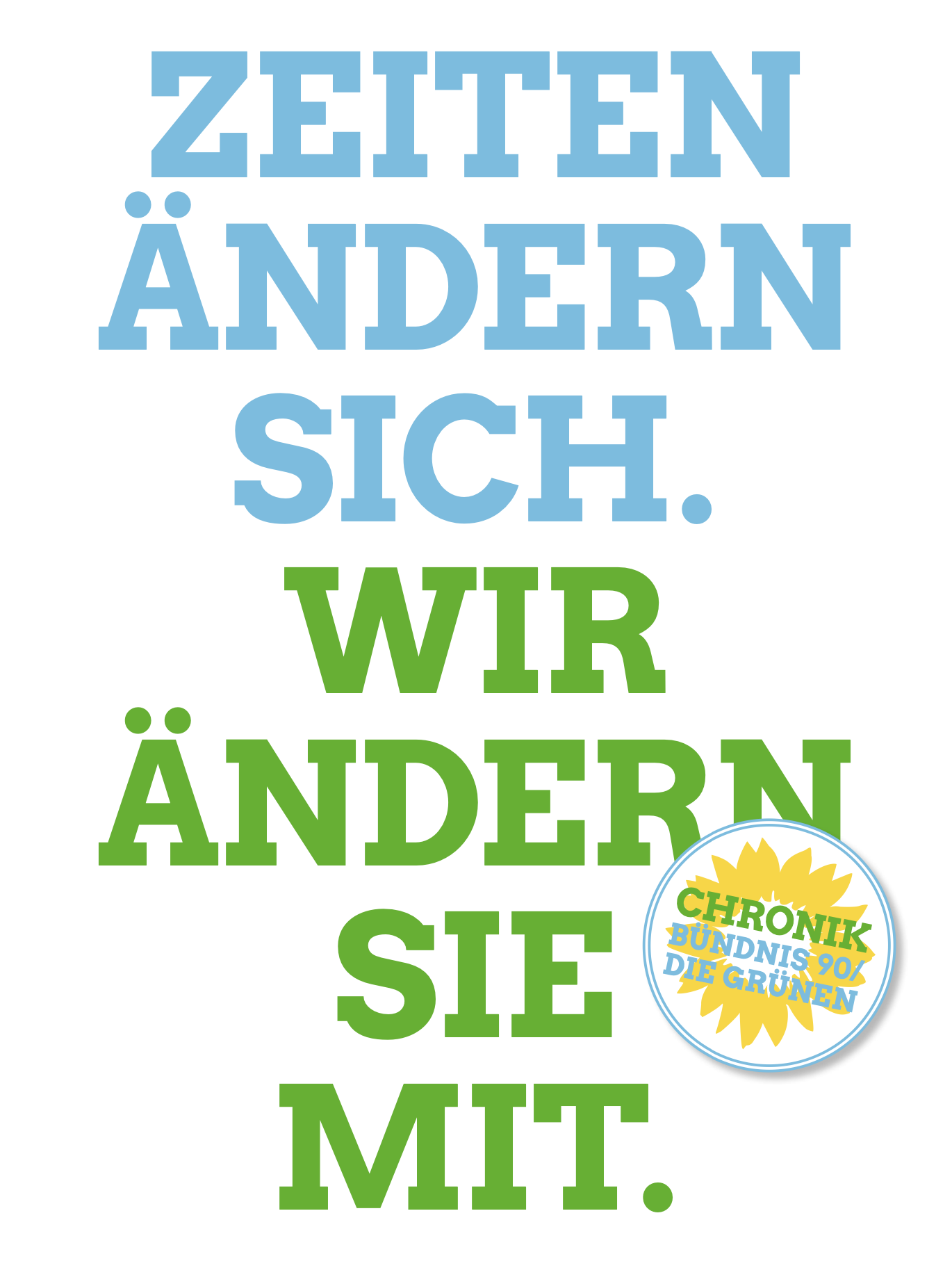 GRÜNE CHRONIK