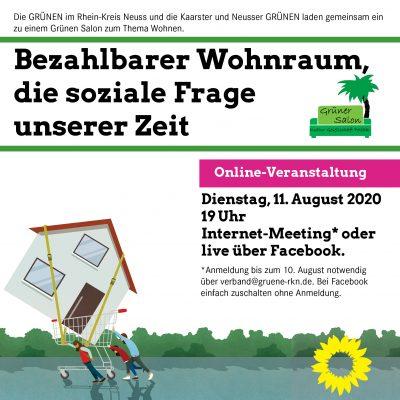 Bezahlbarer Wohnraum, die soziale Frage unserer Zeit @ ONLINE / zuhause