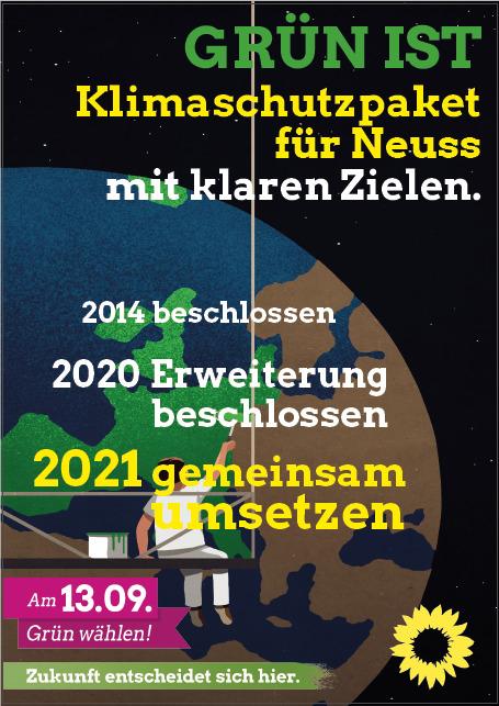 GRÜNE für ergänzte Fortschreibung des Klimaschutzkonzepts