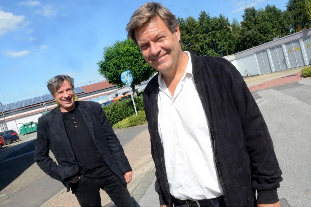 Klinkicht und Habeck bei Janssen&Cilag