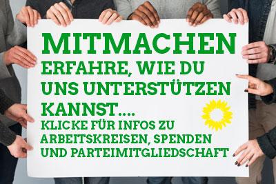 Partei ergreifen - jetzt mitmachen!