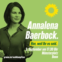 Annalena Baerbock in Bonn